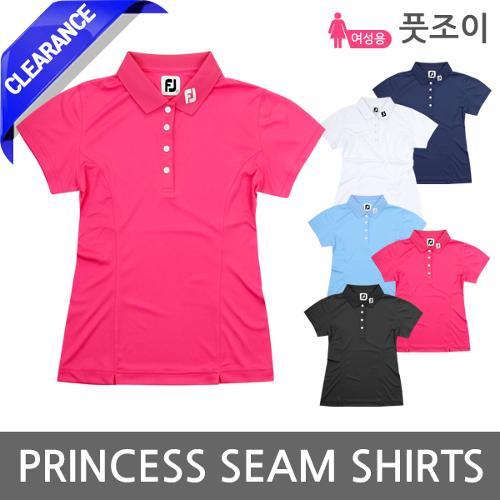 풋조이 PRINCESS SEAM SHIRTS 여성 반팔 셔츠
