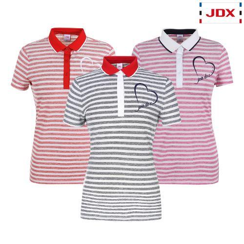 JDX 여성 스트라이프 린넨 티셔츠 3종 택1 X2QMTSW93