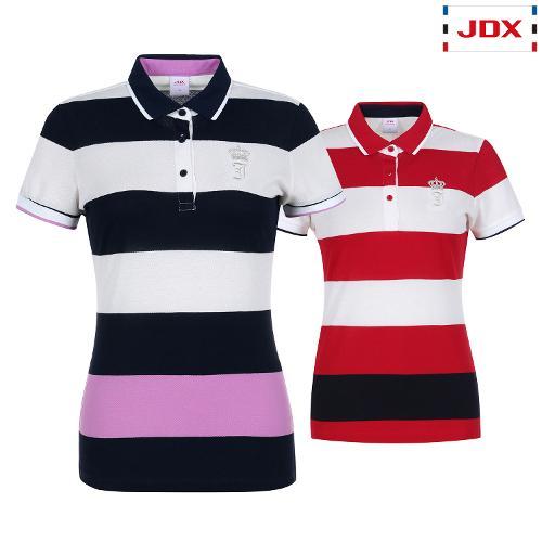 JDX 여성 스트라이프 카라티셔츠 2종 택1 X2QMTSW69