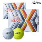 2021 혼마 TW-X 골프공 화이트 옐로우볼 3피스 12알