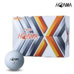 2021 혼마 TW-X 골프공 화이트볼 3피스 12알 BT1908