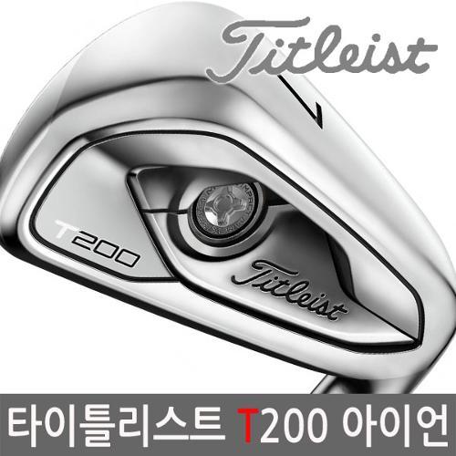 타이틀리스트 T200 포지드 아이언 6개 2020년_남/병행