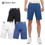 [MASTER BEAR] 마스터베어 허리 포인트 숨김밴딩 하프팬츠 Model No_M1-9B020
