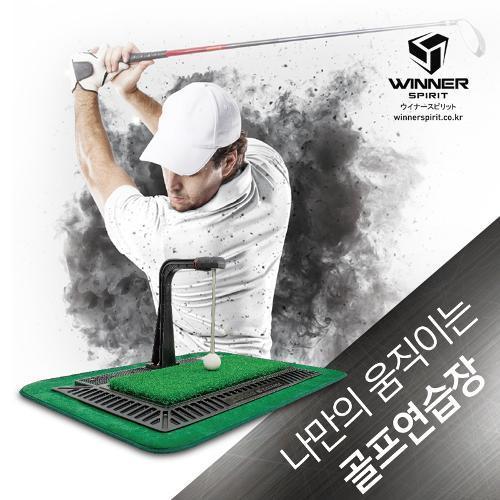 위너스피릿 리얼스윙 300 골프스윙 연습기 WSI-300