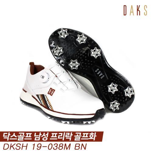 닥스골프 19 DKSH19-038M 골프화 [브라운] [남성용]