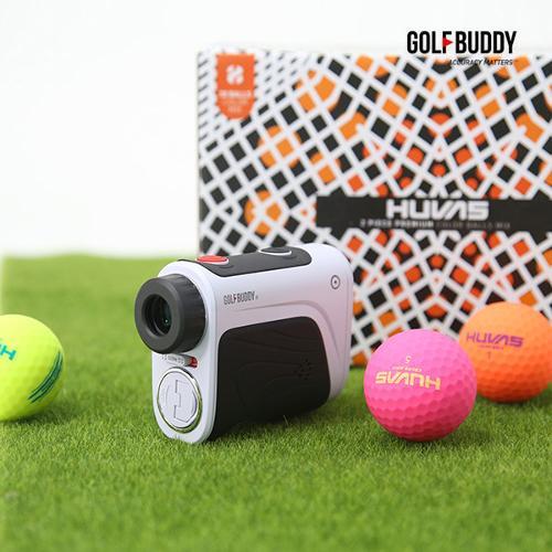 골프버디 레이저거리측정기aim L10V+컬러골프볼(30알)