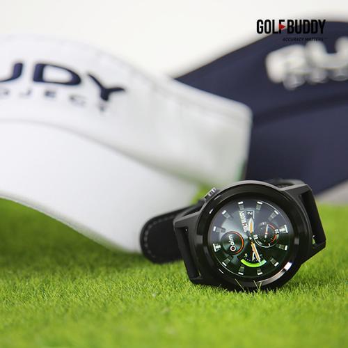 골프버디 시계형GPS거리측정기 W11+루디프로젝트 모자