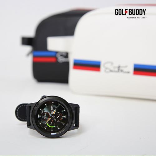 골프버디 시계형GPS거리측정기 W11+세인트나인 파우치