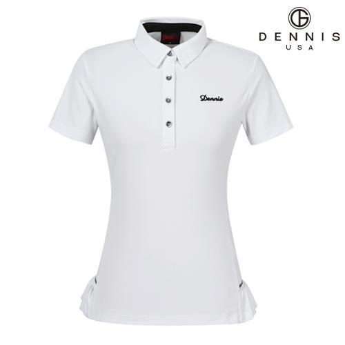 [데니스골프]D50 플리츠원단 티셔츠_NAIMLTS096