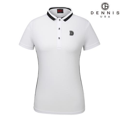 [데니스골프]SPOT D50 와끼에리 테이프 티셔츠_NAIMLTS08B