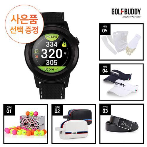골프버디 시계형 GPS 골프거리측정기 aim W11+사은품