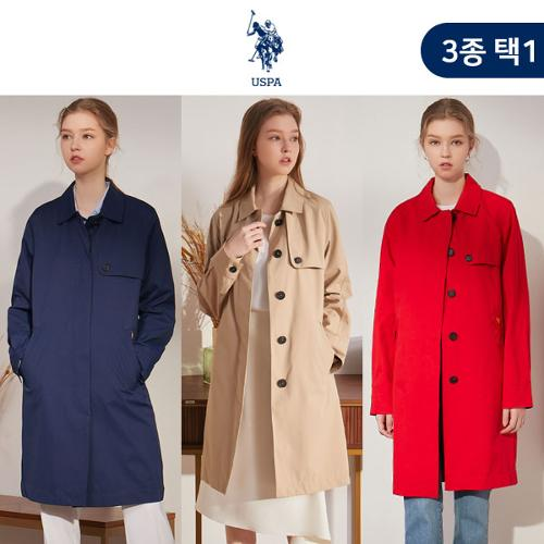 [USPA] 화이트라벨 클래식 여성 트렌치 코트 3종 택1/골프웨어_100754