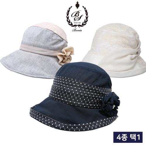 [보니스 골프] 썸머 러블리 여성 버킷 모자 균일가 4종 택1/골프모자_100100