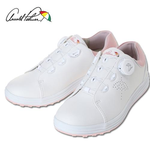[아놀드파마] 그린힐 스파이크리스 여성 보아시스템 골프화/골프용품(화이트)_100201