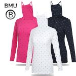 [BMU 골프웨어] 스마일 래빗 패턴 스판 여성 귀달이 이너웨어/골프웨어_100576