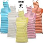 [BMU] 아이스 스트라이프패턴 여성 귀달이 민소매 티셔츠_100628