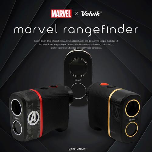 [22년형-핀파인더기능]볼빅 마블 아이언맨X어벤저스 레인지파인더 V2 거리측정기+케이스
