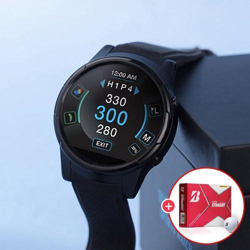 투어프로 XS9 시계형 거리측정기/브랜드 골프공 제공