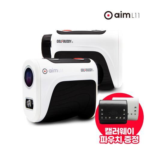 [골프 파우치 증정/골프버디] aim L11 레이저 거리측정기 ZST 기술 적용