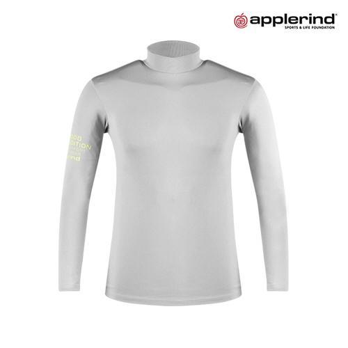 애플라인드 남성 플리스 하이넥 티셔츠 HFS-MTS03