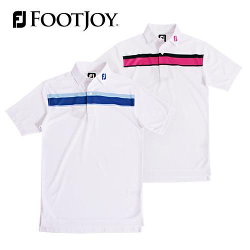 전시상품/풋조이 더블 체스트 스트라이프 셔츠