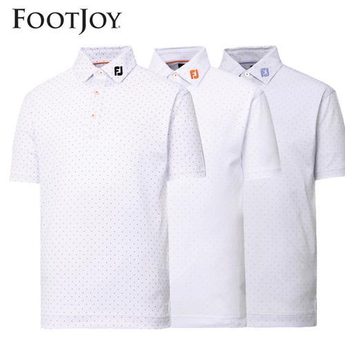 전시상품/풋조이 도트 프린트 셔츠