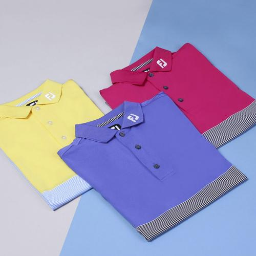 전시상품/풋조이 컨트라스트 셔츠