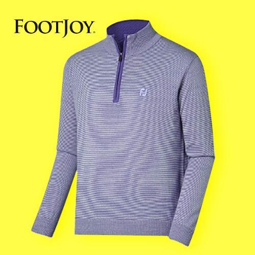 전시상품/풋조이 언라인드메리노 하프 집 스웨터