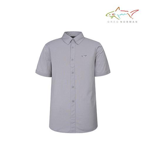 그렉노먼 남성 반팔 골프 셔츠 UV차단 흡습속건 기능성