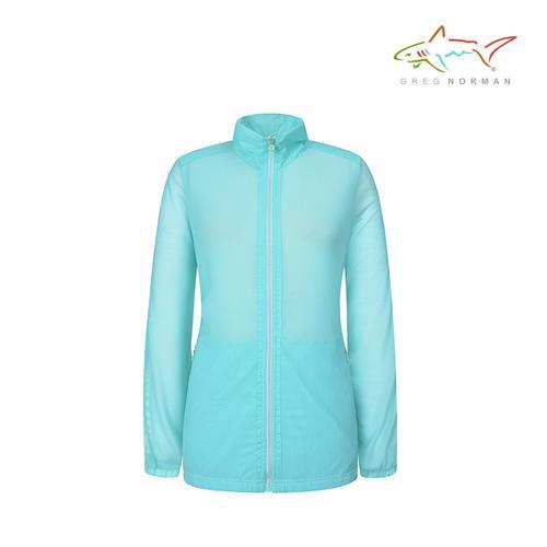 그렉노먼 여성 메쉬 바람막이 점퍼 골프 자켓
