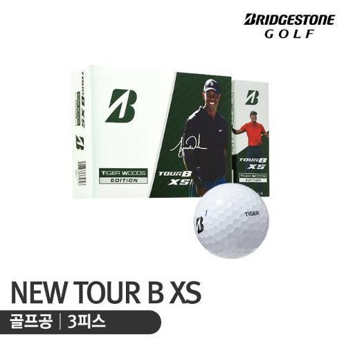 [10% 마일리지 행사상품][석교상사 정품] 브리지스톤 21년형 TOUR B XS 타이거우즈 에디션3 골프공_3피스