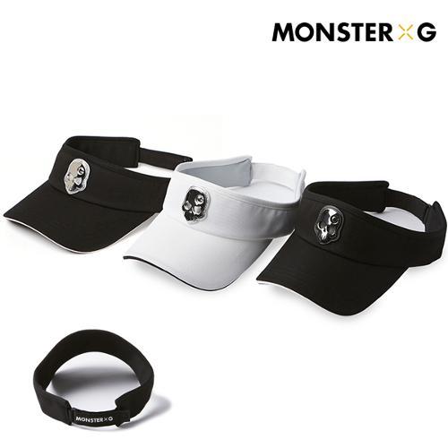 [몬스터지] 골프 데일리 남성 여성 공용 골프 썬캡 모자