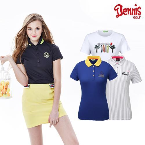 [10% 마일리지 행사상품][데니스골프] 여성 티셔츠 모음전