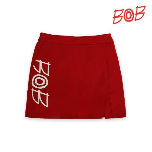BOB 여성 솔리드 포인트 로고 큐롯 - GBM2PQ710_RE