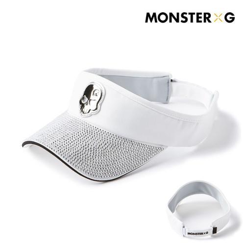 [몬스터지] 골프 데일리 크리스탈 에디션 남성 여성 공용 썬캡 모자