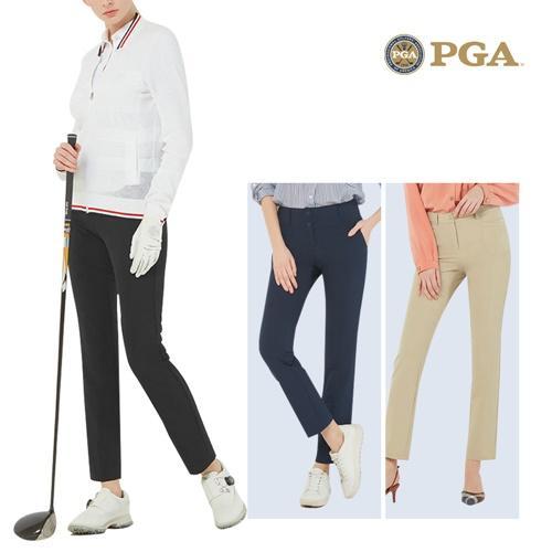 PGA 여성 하이브리드 더블페이스 골프팬츠 POS02PT20
