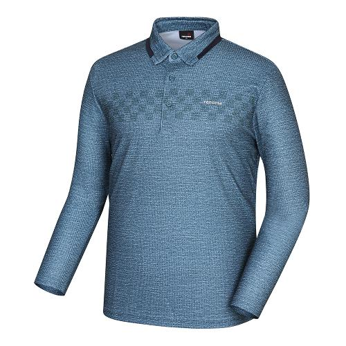 [레노마골프]남성 카라 배색 포인트 티셔츠 RMTYH3108-804_G