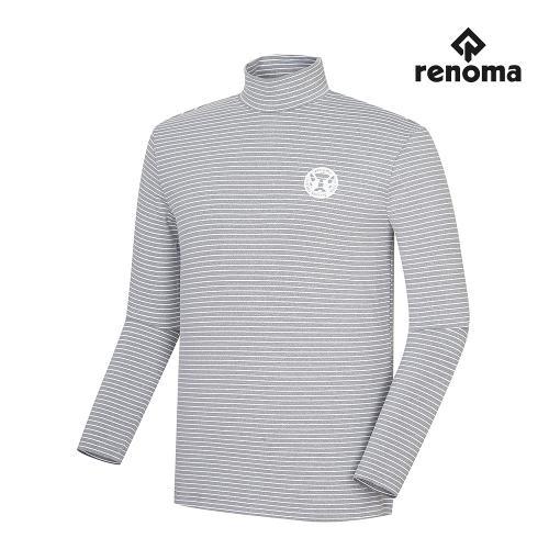 [레노마골프]남성 스트라이프 하이넥 티셔츠 RMTHH3112-190_G