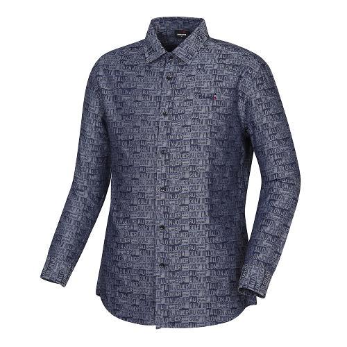 [레노마골프]남성 레터링 패턴 셔츠 RMBSH3605-913_G