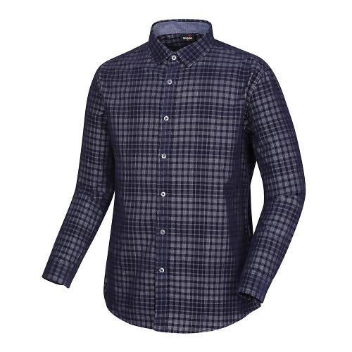[레노마골프]남성 코튼 체크 셔츠 RMBSH3604-915_G