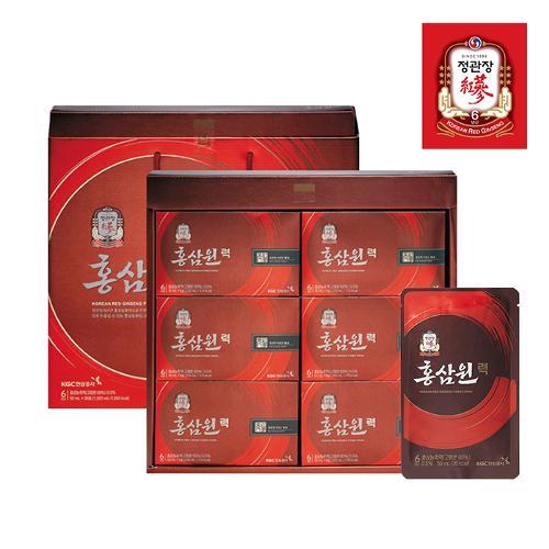 [정관장 선물세트] 홍삼원력 50ml x 30포