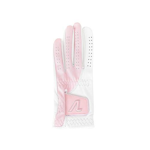 [볼빅골프웨어] 여성 골프 배색 포인트 램스킨 한손 장갑 VLGVK303_LP