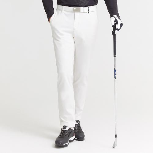 [볼빅골프웨어] 남성 골프 스트레치 베이직 노턱 팬츠 VMPTK991_OW