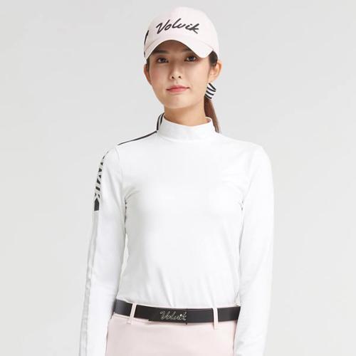 [볼빅골프웨어] 여성 골프 라인 반폴라 베이스레이어 VLBSK994_OW