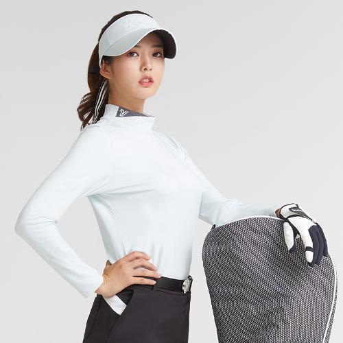 [볼빅골프웨어] 여성 골프 반폴라 베이스레이어 VLBSK991_LL