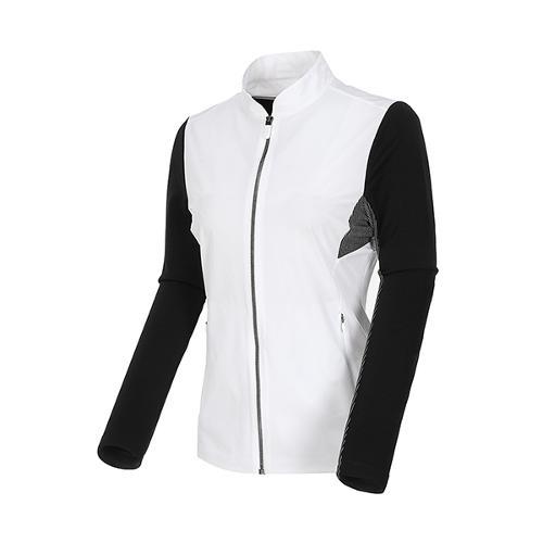 [볼빅골프웨어] 여성 골프 하이브리드 점퍼 VLJPL201_OW