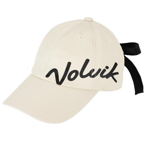 [볼빅골프웨어] 여성 골프 글로시 클립리본 6각 캡 모자 VLAPL804_CR