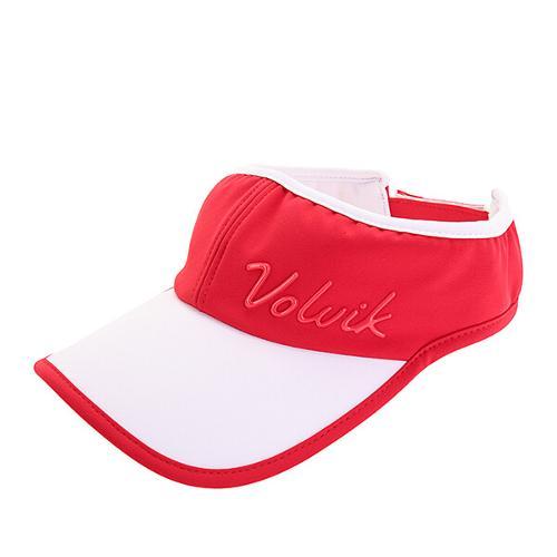 [볼빅골프웨어] 여성 골프 컬러풀 로고 바이저 VLCPK310_RE