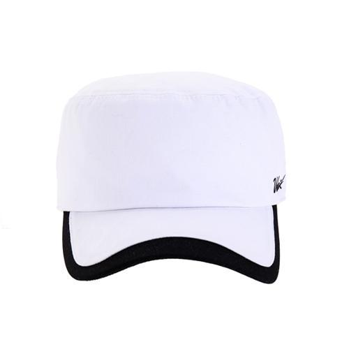 [볼빅골프웨어] 여성 골프 자카드 로고 밀리터리 캡모자 VLCPJ203_WH