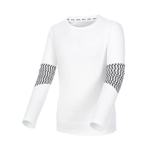 [볼빅골프웨어] 남성 골프 LAB 패턴 라운드 긴팔 티셔츠 VMTSL272_OW